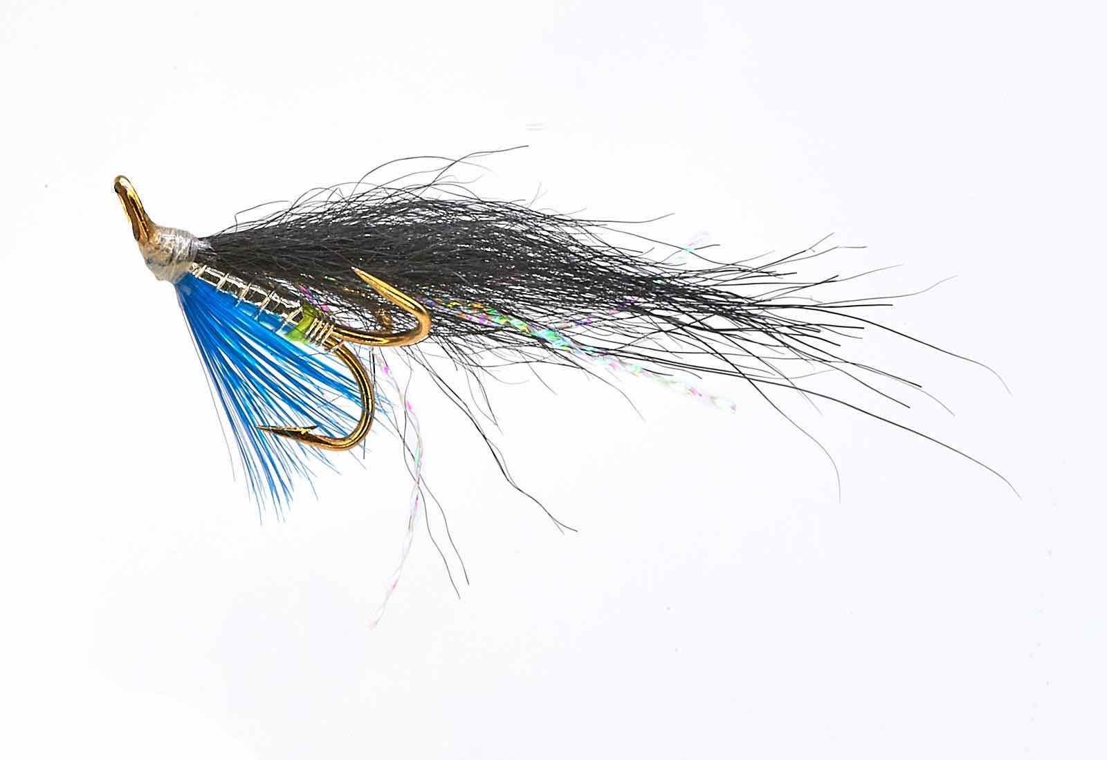 Ponoi Black Treble Hook fly # 8