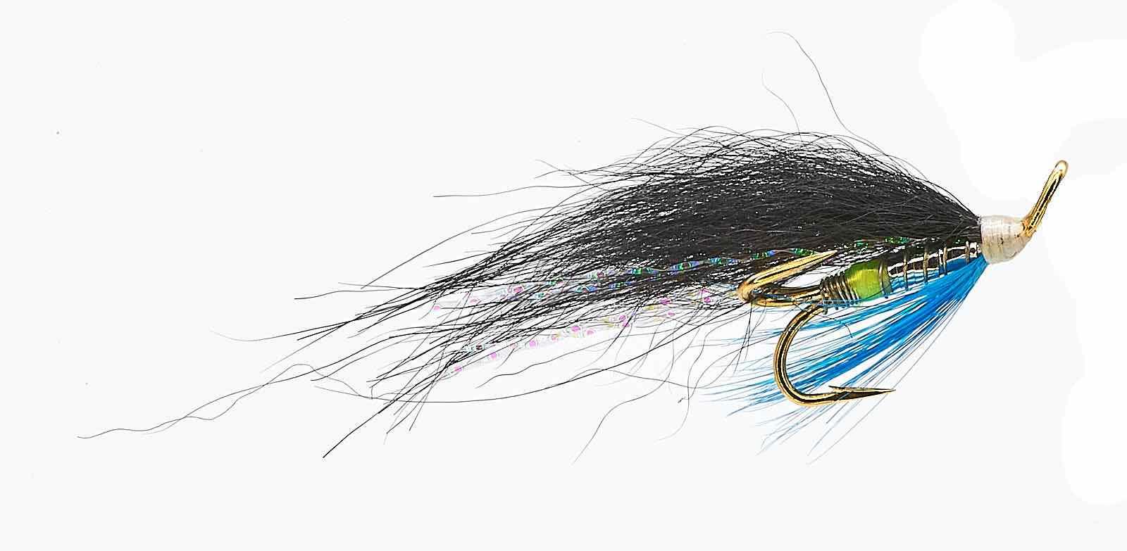 Ponoi Black Treble Hook fly # 12
