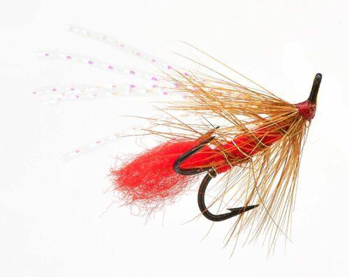 Soldier Palmer Treble Hook Fly # 8