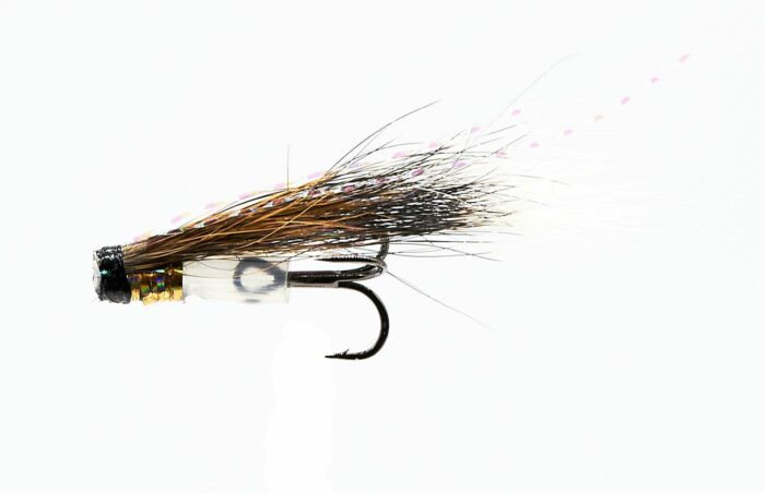MICRO V-Fly Hitch - Holo Silver Tippet # 10-14