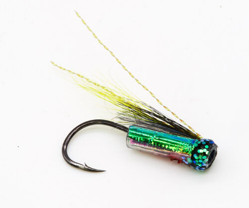 Green Hitchman riffling hitch fly
